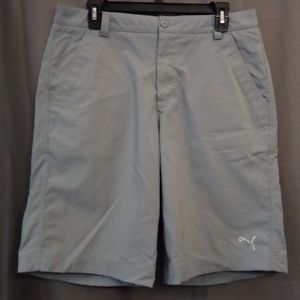Puma Golf Shorts 32W Gray/blueish